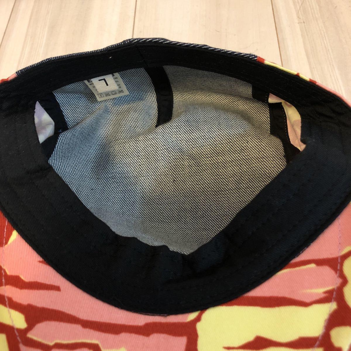 エヴィス EVISU ハンチング 帽子 ③_画像3