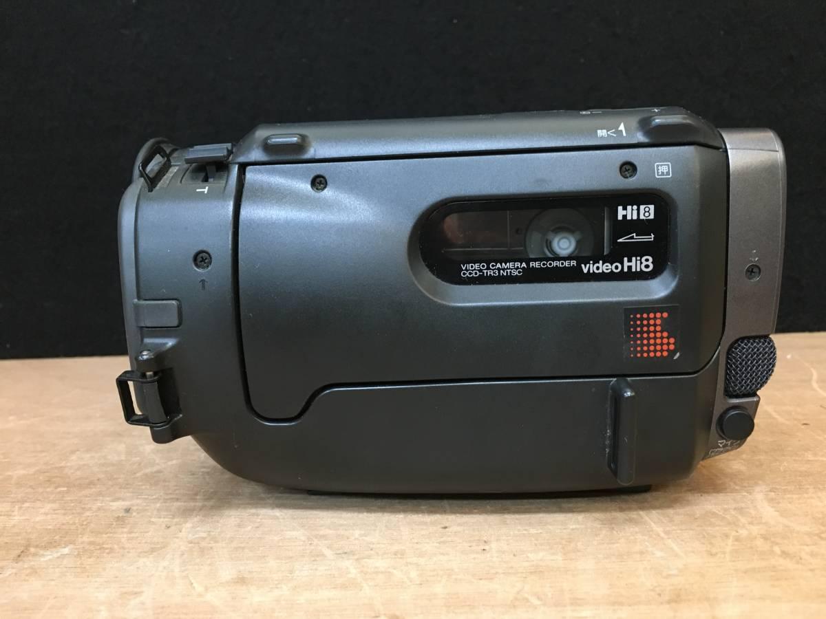 SONY ソニー ビデオカメラ CCD-TR3 ハンディカム video Hi8 ジャンク品_画像5