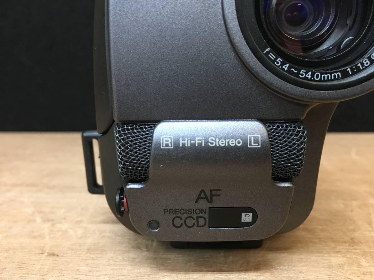 SONY ソニー ビデオカメラ CCD-TR3 ハンディカム video Hi8 ジャンク品_画像10