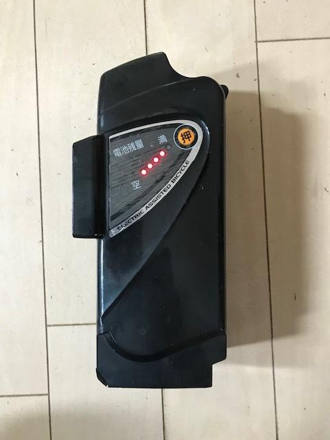 【長押し4点灯】パナソニック 電動アシスト自転車 リチウムバッテリー NKY461B02 5Ah 充電器セット_画像3