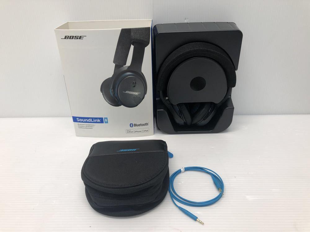 展示品 Bose SoundLink on-ear Bluetooth headphones ワイヤレスヘッドホン 密閉型/オンイヤー ブラック SoundLink BOSE _画像2