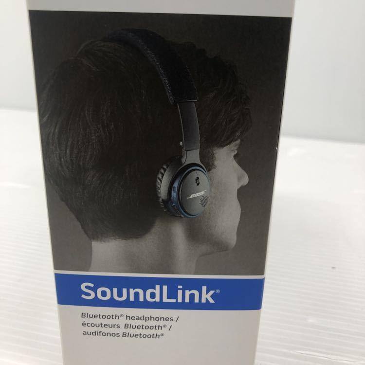 展示品 Bose SoundLink on-ear Bluetooth headphones ワイヤレスヘッドホン 密閉型/オンイヤー ブラック SoundLink BOSE _画像8