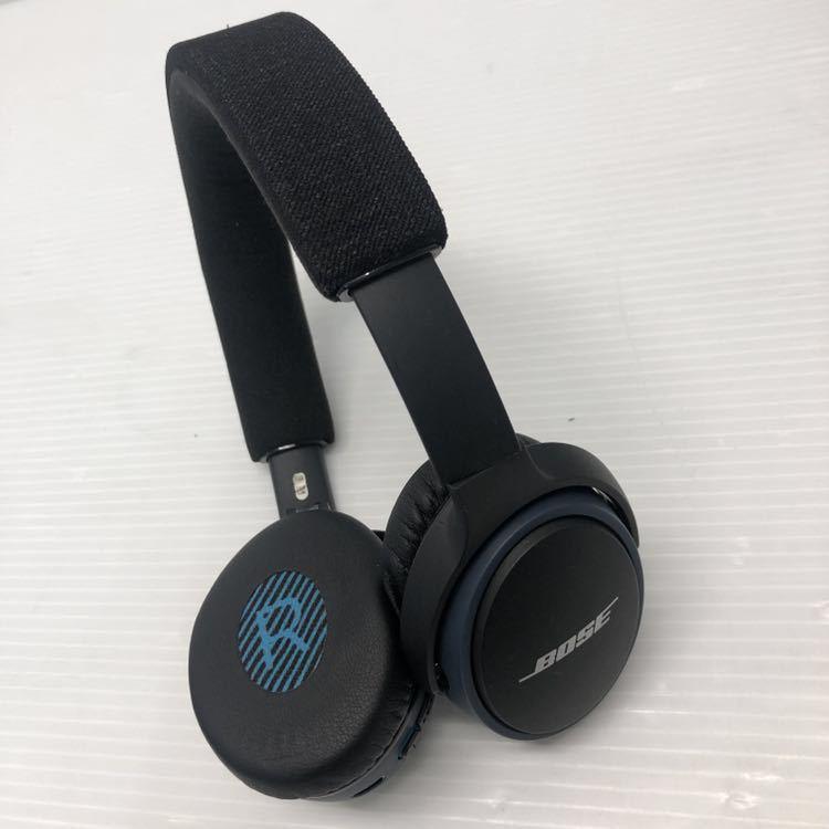 展示品 Bose SoundLink on-ear Bluetooth headphones ワイヤレスヘッドホン 密閉型/オンイヤー ブラック SoundLink BOSE _画像6