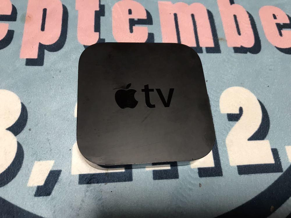 Apple TV 第3世代 本体と電源ケーブルのみ_画像2