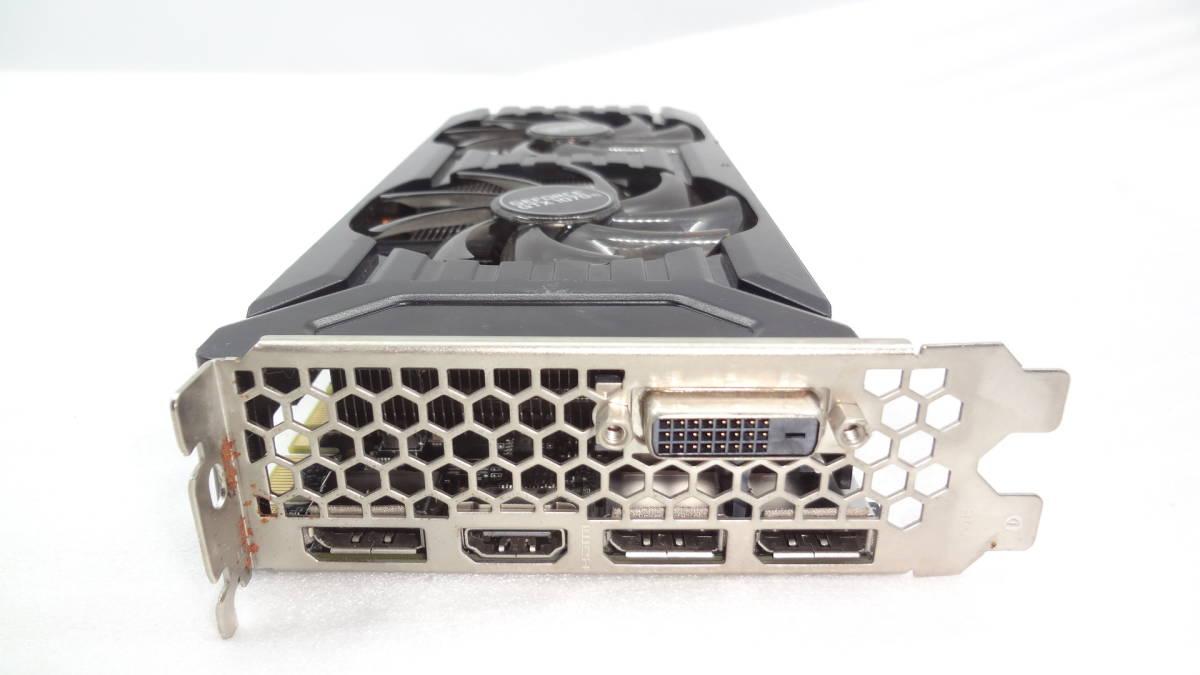 1円~ palit GTX1070TI DUAL 8G GDDR5 256bit DVI/DP x 3/HDMI PCI-E 中古動作品(KD31)_画像2