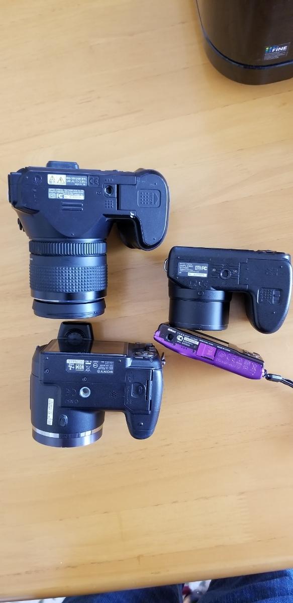 デジタルカメラ4台、撮影OK、ジャンク扱い_画像7