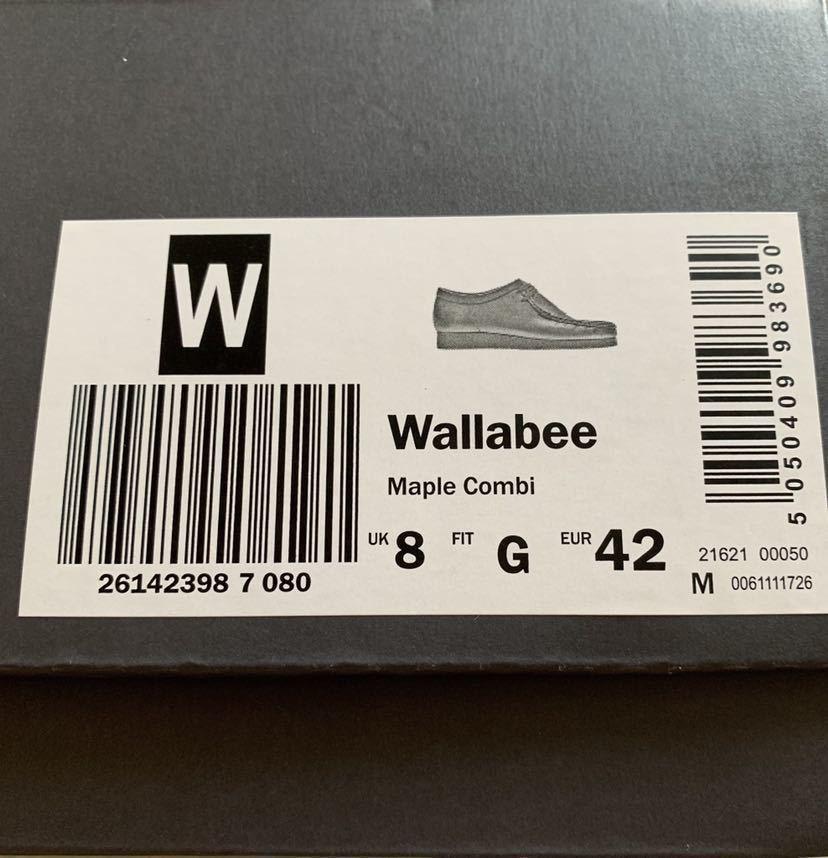 19SS Supreme × Clarks Originals Bandana Wallabee クラークス バンダナ スニーカー ワラビー メープル US9 27センチ (nikeboxlogonorth_画像4
