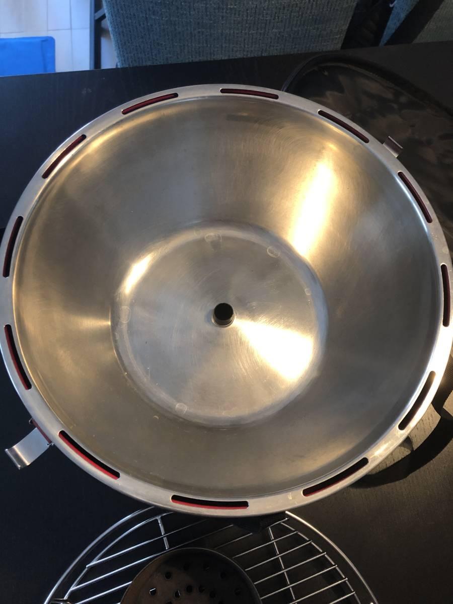 ロータスグリル レギュラサイズ 無煙 チャコールグリル スモークレス G340 バーベキュー BBQ 炭火コンロ Lotus Grill_画像10