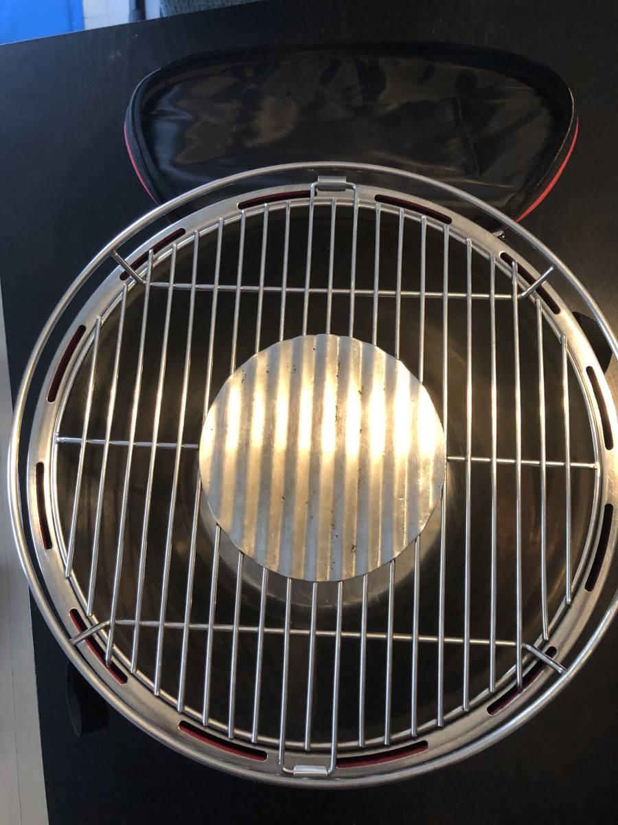 ロータスグリル レギュラサイズ 無煙 チャコールグリル スモークレス G340 バーベキュー BBQ 炭火コンロ Lotus Grill_画像4