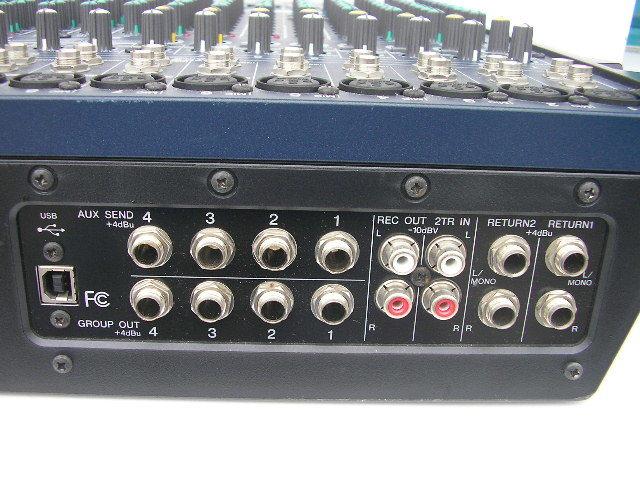 ☆ヤマハ YAMAHA MG206C-USB アナログミキサー_画像7