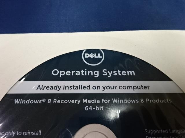 いた-85〒/DELLデル オペレーティングシステム Windows8リカバリー 64bitまとめて10点 ソフトウエア PCアクセサリー 未使用_画像4