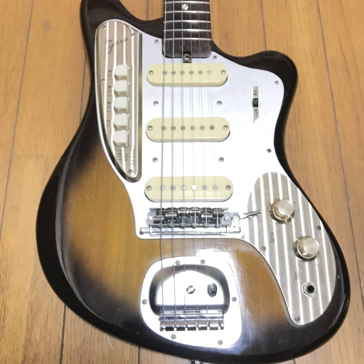 ZEN-ON ZES-220 1965年製? 魅惑のジャパニーズビンデージ ビザールギター 全音 ZEN