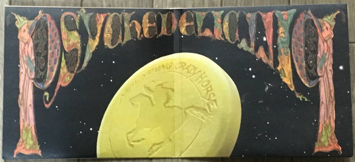 Neil Young with Crazy Horse☆Psychedelic Pill☆2CD☆輸入盤☆美品☆ニール・ヤング クレイジー・ホース☆『サイケデリック・ピル』_画像2