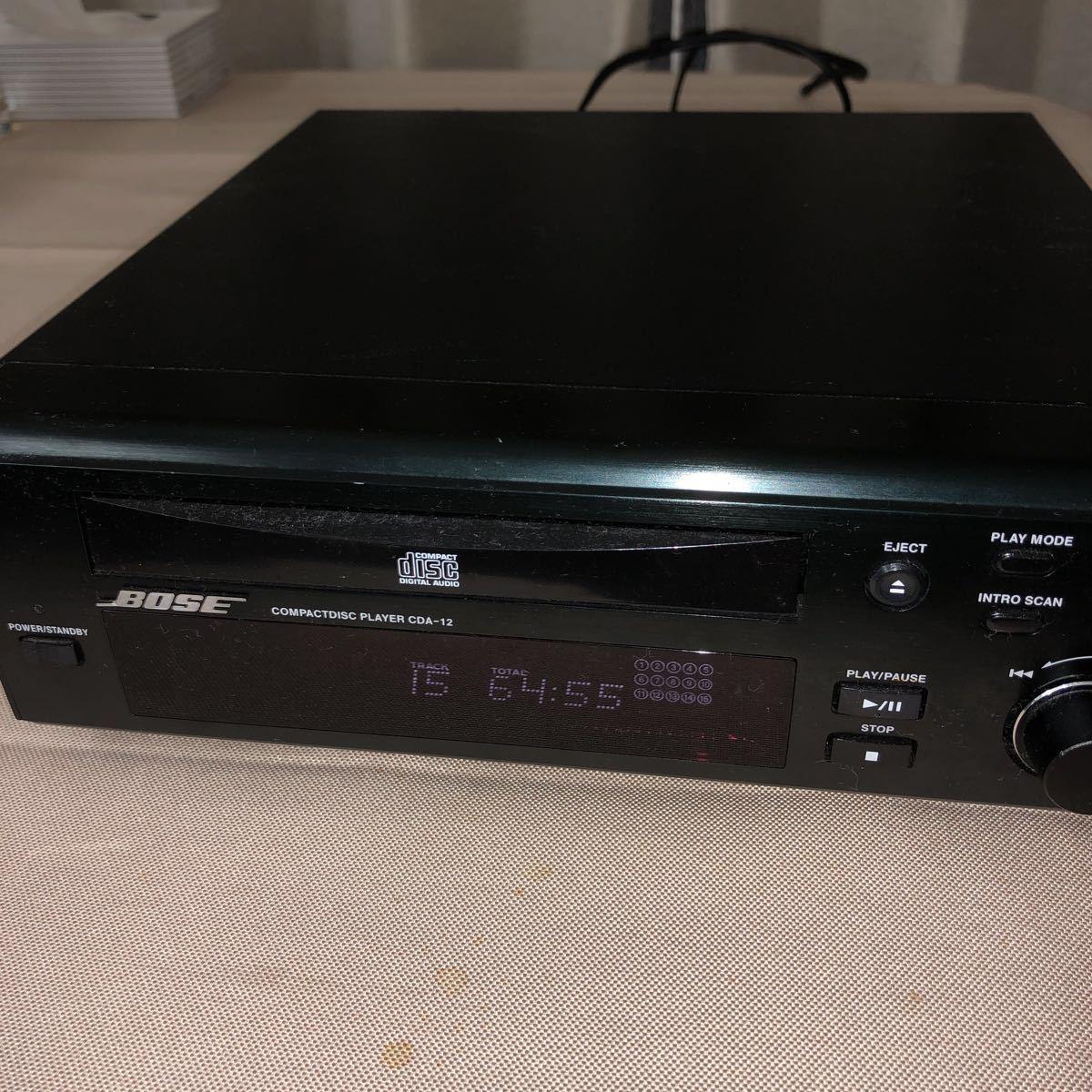 BOSE CDプレーヤー CDA-12 アメリカンサウンドシステム ジャンク品