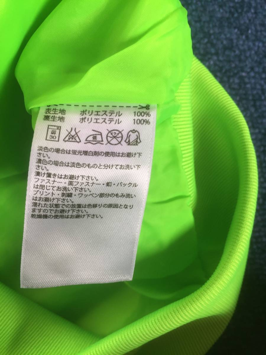 美品☆[adidas×PHARRELL WILLIAMS] 3ストライプ ネオンカラー トラックジャケット M アディダス×ファレル ウィリアムズ_画像6