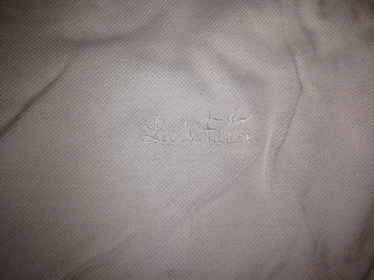 フラグメントデザイン FRAGMENT DESIGN フェノム FENOM リーバイス LEVI'S 半袖ポロシャツ 日本製 L ホワイト 白 イエロー 黄_画像3