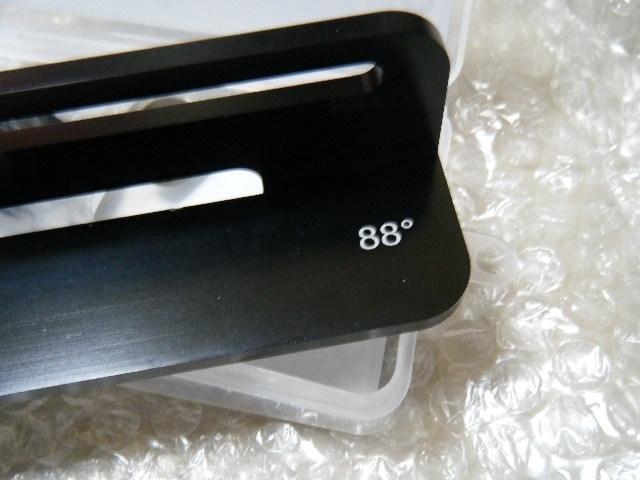 ●新品● 88° ファイルガイド クランプ一体式  ケース付  送料340円_画像2