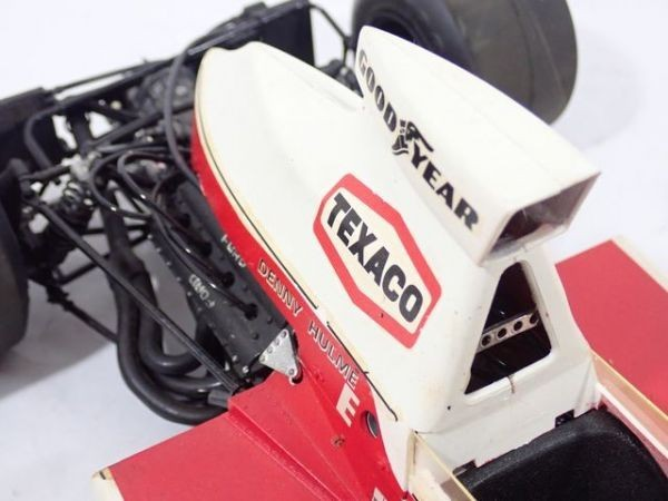 Ki81◆当時物 古い プラモデル F-1 FORD TEXACO-Marlboro 完成品 ジャンク メーカースケール不明 マルボロ タミヤ? パーツ取り等に 送:E80_画像5