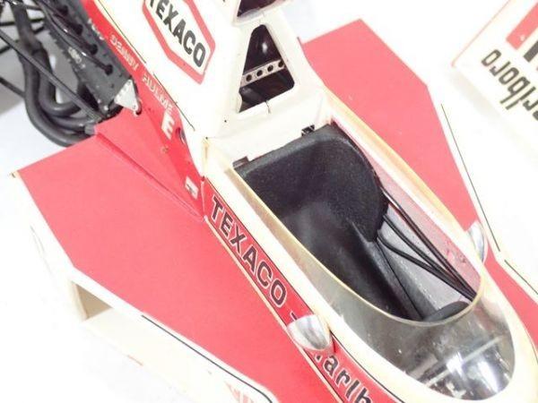 Ki81◆当時物 古い プラモデル F-1 FORD TEXACO-Marlboro 完成品 ジャンク メーカースケール不明 マルボロ タミヤ? パーツ取り等に 送:E80_画像4