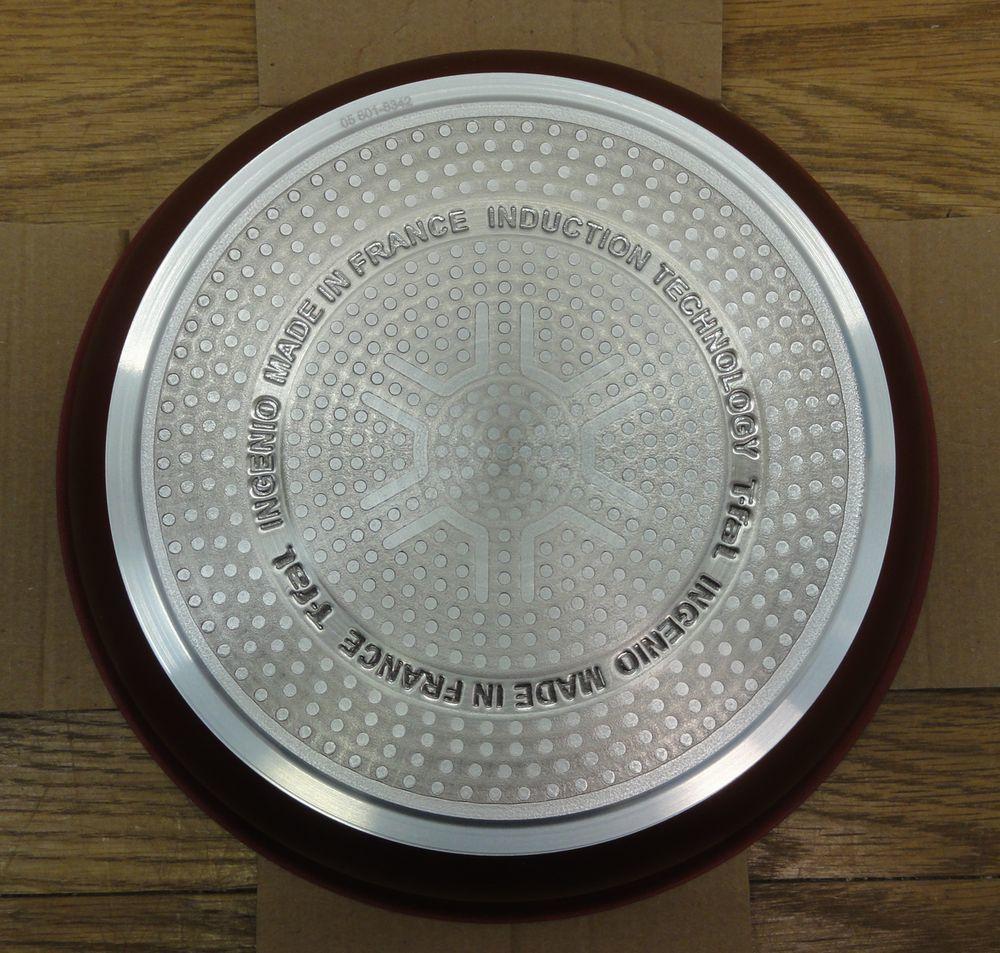 未使用/展示品 T-fal/ティファール ingenio インジニオ・ネオ IHルビー・エクセレンス セット3 フライパンセット 22cm/26cm_画像6