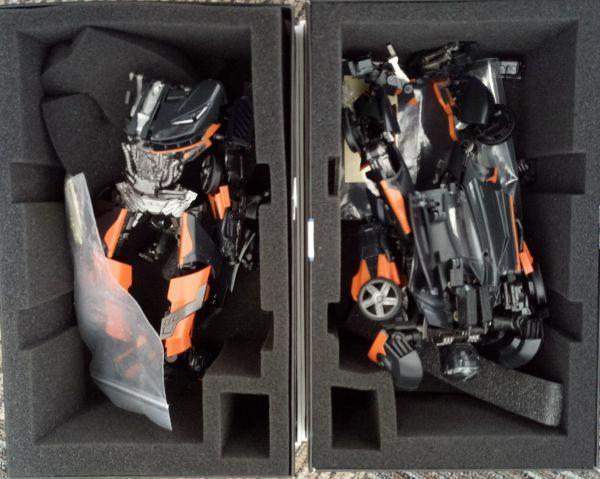 ※DX9 Toys X UNIQUETOYS K3 LAHIRE 第2弾!  ジャンク品A10037-1_画像6