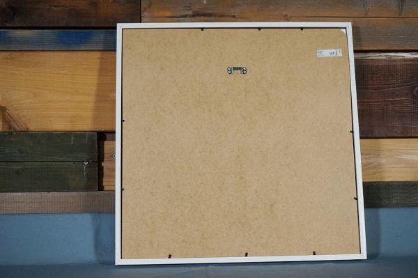 HY-292 展示品 IKEA 絵 アート 絵画 額縁付き W525 H525_画像2