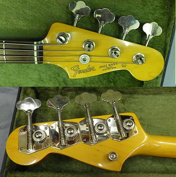 <美品 83' Fender JAPAN JVシリアル フジゲン製 JB62-75 USピックアップ搭載> _画像7