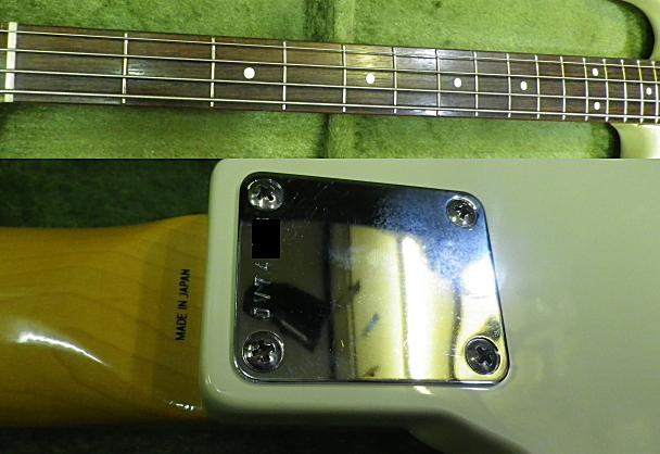 <美品 83' Fender JAPAN JVシリアル フジゲン製 JB62-75 USピックアップ搭載> _画像10