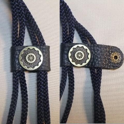 革製信玄袋マチ付き 3WAY  シュリンク・エンボス・ダークブルー 2ポケット_画像7