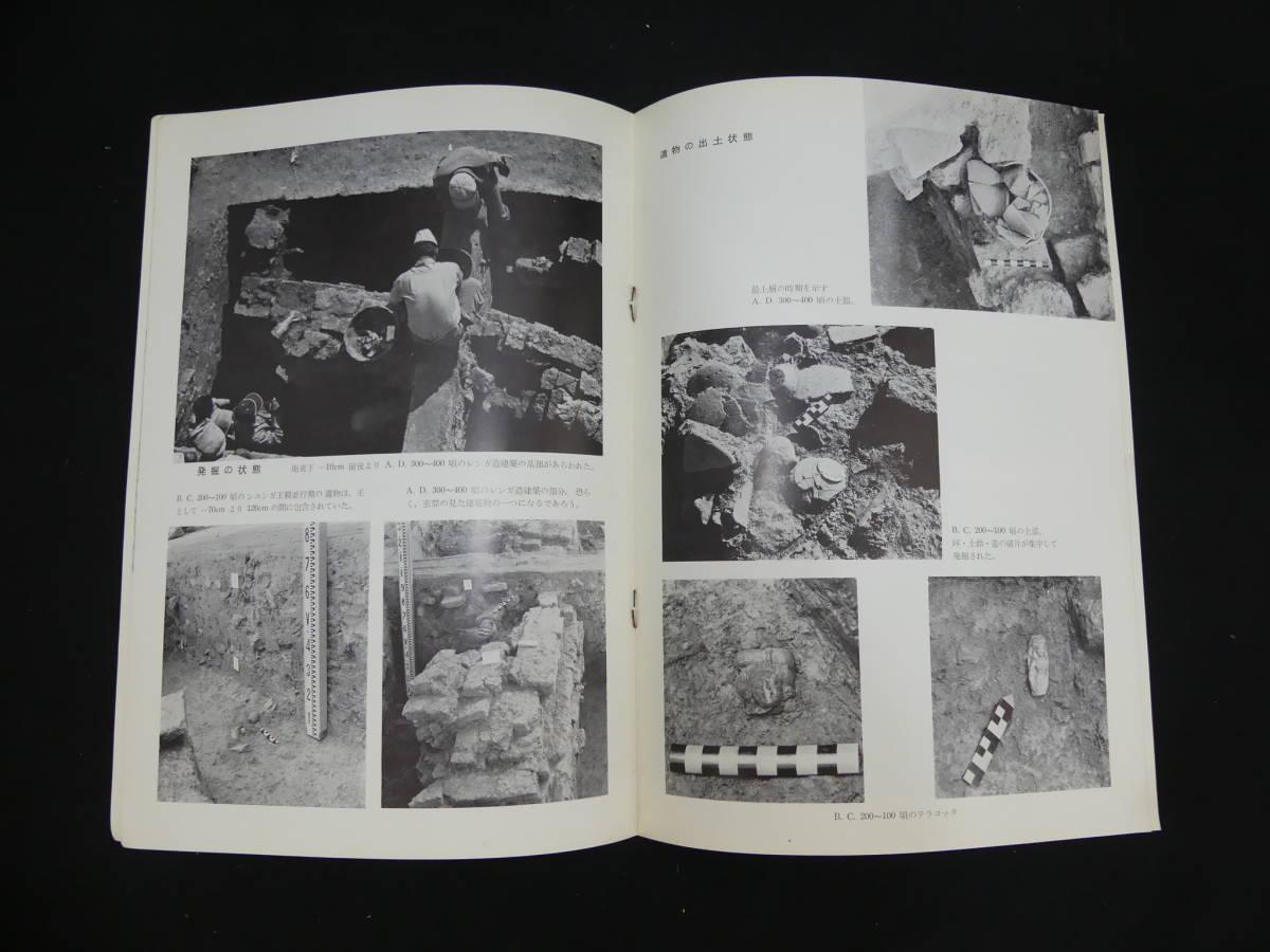 1968年代 発掘 調査の記録 釈迦の宮殿 カピラ城跡 立正大学 インド・ネパール仏跡調査団 考古学 ティラウラコット遺跡 パンフレット 仏教_画像3