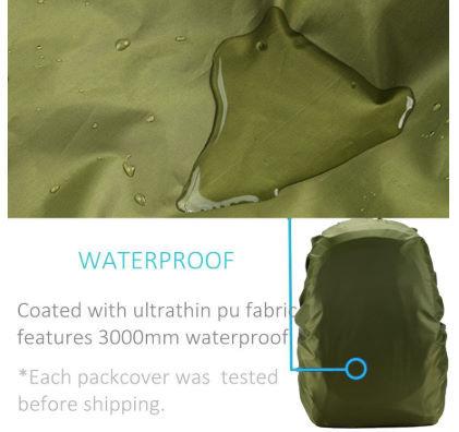 【13色レインカバー】防水 バッグ リュック バックパック 20L 30L 35L 40L 50L 60L キャンプ ハイキング クライミング アウトドア M021_画像8