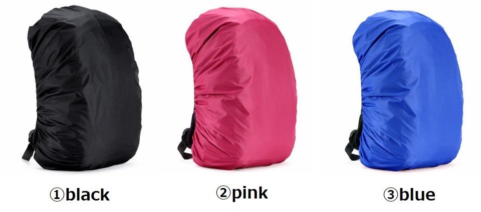 【13色レインカバー】防水 バッグ リュック バックパック 20L 30L 35L 40L 50L 60L キャンプ ハイキング クライミング アウトドア M021_画像2