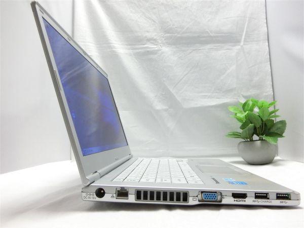 良品・薄型・大画面【SSD搭載】Panasonic Let's note CF-LX3 CF-LX3YD1CS/Core i5/8GB/128GB SSD/最新Windows10/Office/PC01561_画像7