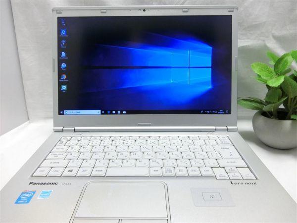 良品・薄型・大画面【SSD搭載】Panasonic Let's note CF-LX3 CF-LX3YD1CS/Core i5/8GB/128GB SSD/最新Windows10/Office/PC01561_画像2