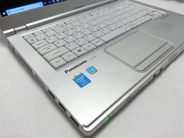 良品・薄型・大画面【SSD搭載】Panasonic Let's note CF-LX3 CF-LX3YD1CS/Core i5/8GB/128GB SSD/最新Windows10/Office/PC01559_画像3