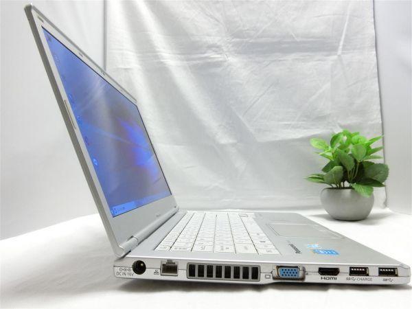 良品・薄型・大画面【SSD搭載】Panasonic Let's note CF-LX3 CF-LX3YD1CS/Core i5/8GB/128GB SSD/最新Windows10/Office/PC01559_画像7