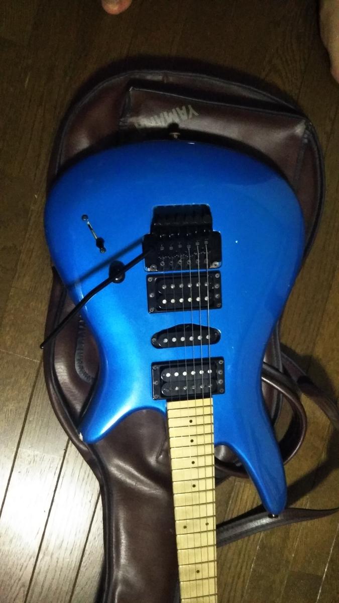 YAMAHA MG-M2 b'z 松本モデル エレキギター ケース付_画像6