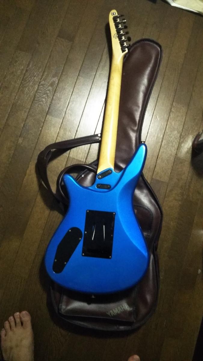 YAMAHA MG-M2 b'z 松本モデル エレキギター ケース付_画像7