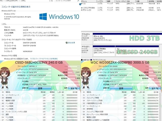 ゲーミングPC【赤い流星】MSI GTX980 GAMING搭載■究極i7-6700K ターボ4.2GHz×8/RAM8GB/新品SSD240GB+HDD3TB/Windows10_画像7