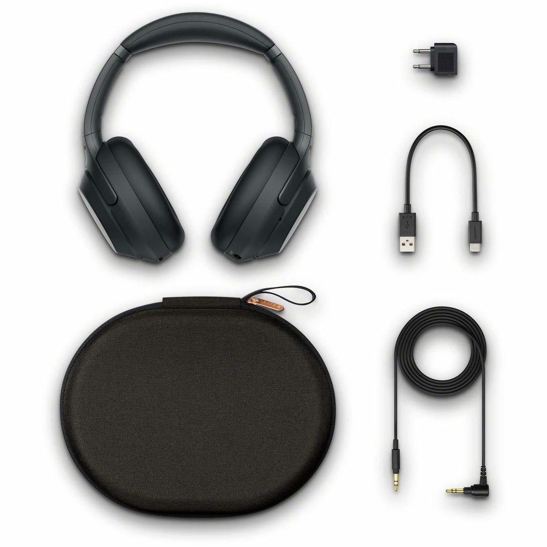 新品 ソニー SONY ワイヤレスノイズキャンセリングヘッドホン WH-1000XM3 ブラック ハイレゾ メーカーの保証付き 条件付き送料無料_画像2