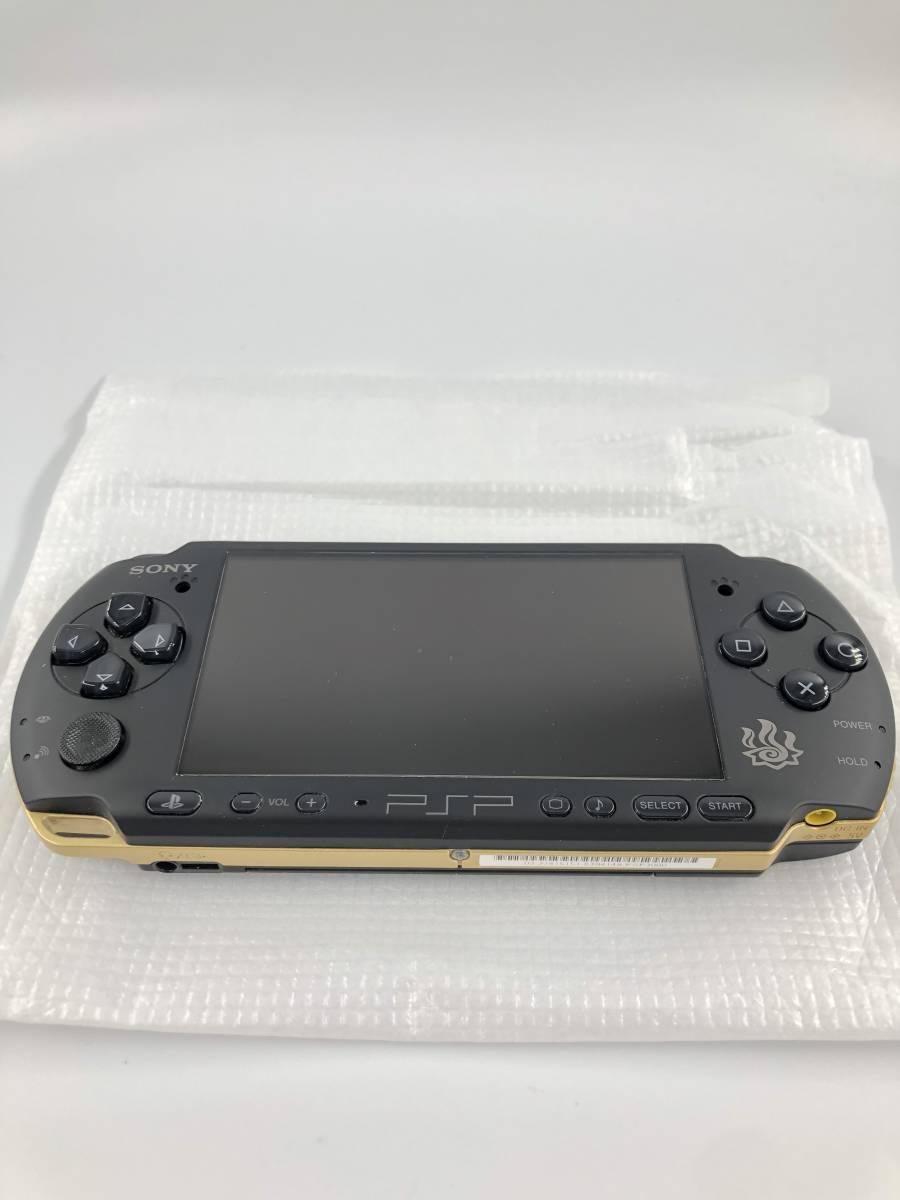 ★ほぼ新品 完品★ PSP モンスターハンターポータブル 3rd ハンターズモデル (PSP-3000MHB) 動作保証あり _画像3