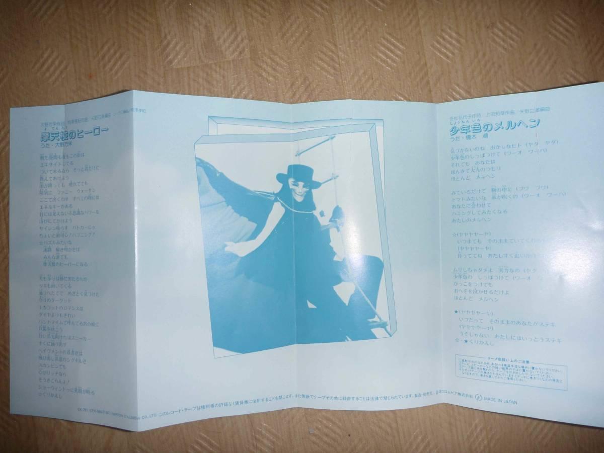 石ノ森章太郎原作 シングルカセット6巻セット 「仮面ライダーBLACK」「ちゅうかなぱいぱい」「どきんちょ!ネムリン」「覇悪怒組」など_4箇所に破れあり。