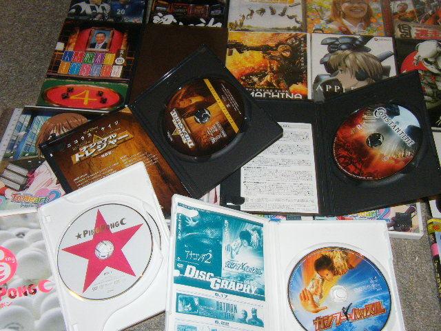 x品名x DVD各種=洋画 邦画 お笑い アニメ 他=約20点(枚数では20枚 以上感)まとめて多数セットで♪ジャンルや状態は色々Mix品_画像6