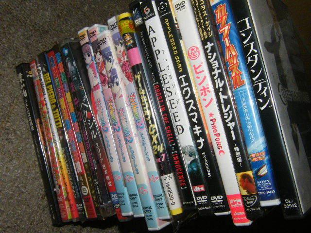 x品名x DVD各種=洋画 邦画 お笑い アニメ 他=約20点(枚数では20枚 以上感)まとめて多数セットで♪ジャンルや状態は色々Mix品_画像9