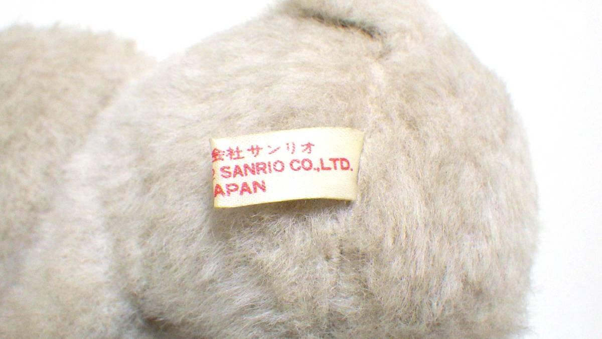☆レア☆希少☆サンリオ ウサギ うさぎ ぬいぐるみ 1982 昭和レトロ 日本製 当時物_画像7