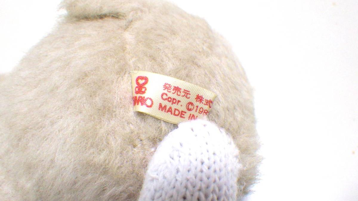 ☆レア☆希少☆サンリオ ウサギ うさぎ ぬいぐるみ 1982 昭和レトロ 日本製 当時物_画像8