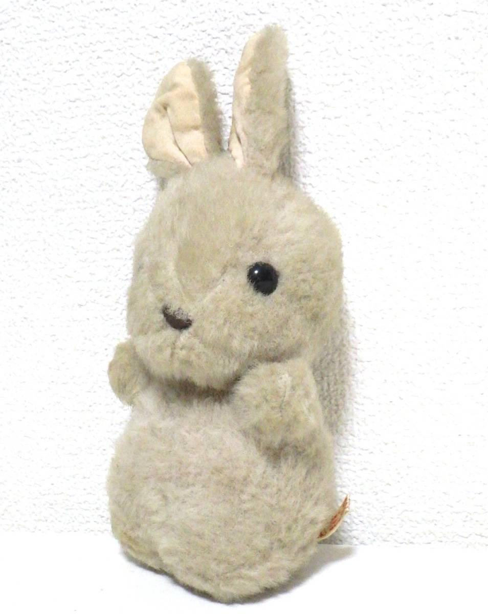 ☆レア☆希少☆サンリオ ウサギ うさぎ ぬいぐるみ 1982 昭和レトロ 日本製 当時物_画像3
