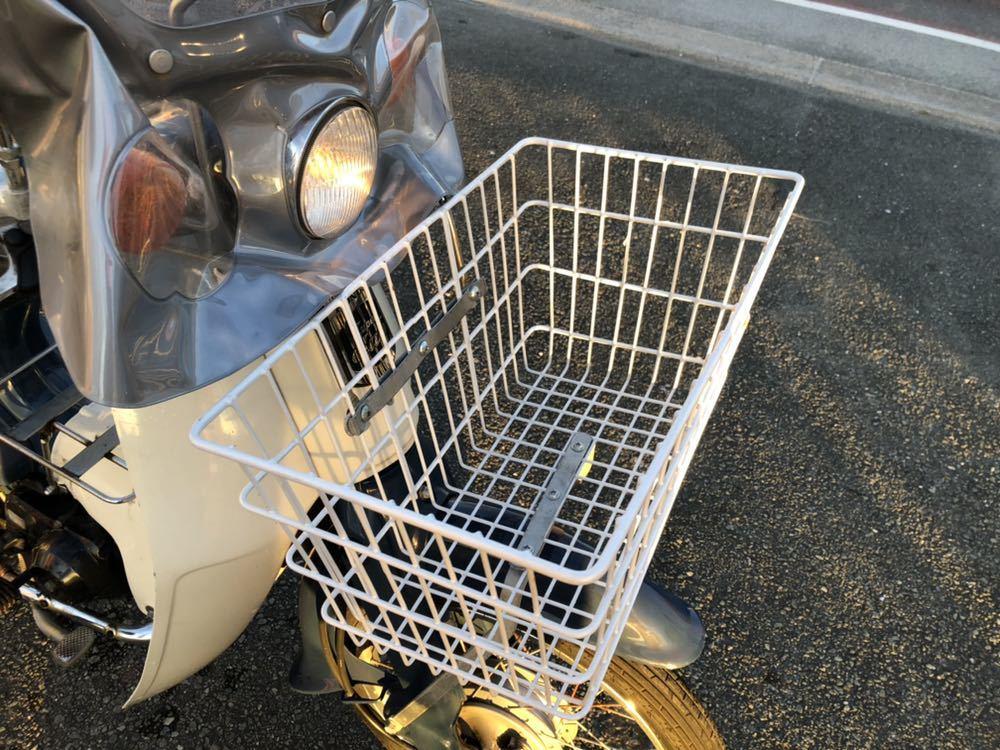 福岡県南部発 ホンダ カブ50 FI リースアップ 新車ワンオーナー 銀行で使用 近県配達可 AA01_画像7