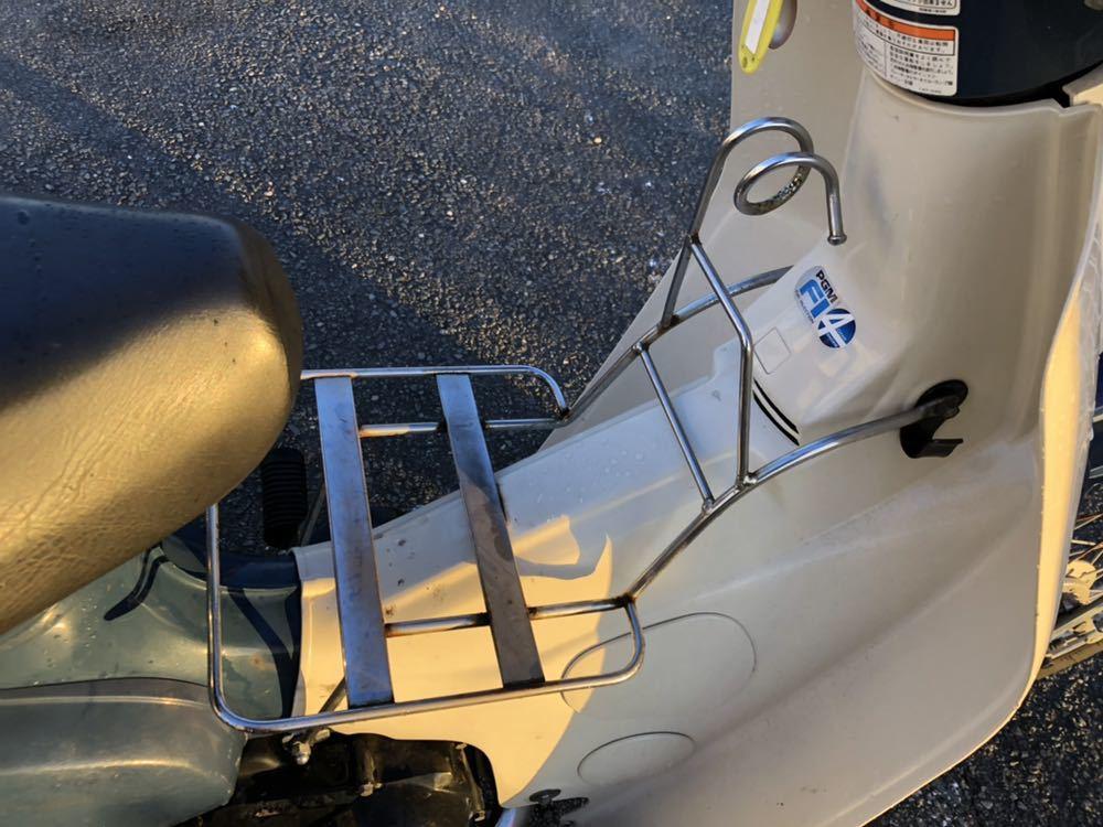 福岡県南部発 ホンダ カブ50 FI リースアップ 新車ワンオーナー 銀行で使用 近県配達可 AA01_画像5
