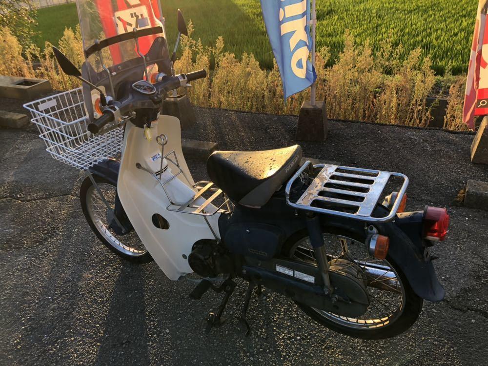 福岡県南部発 ホンダ カブ50 FI リースアップ 新車ワンオーナー 銀行で使用 近県配達可 AA01_画像3
